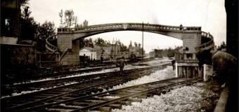 Foto storiche di Grumo Nevano – Ponte pedonale Grumo/Frattamaggiore –