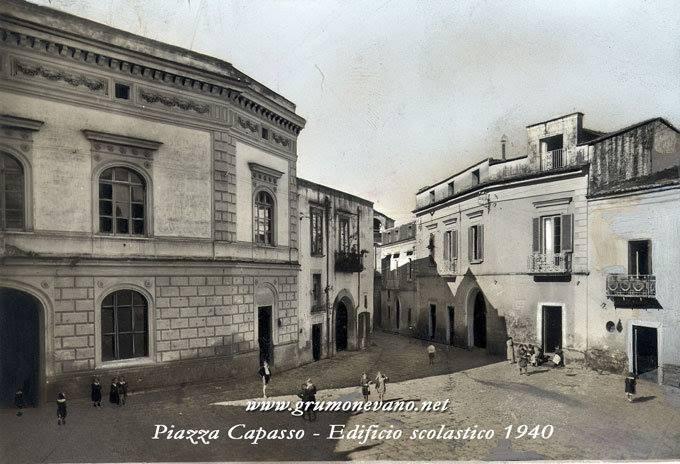 Foto storiche di Grumo Nevano – Piazza Capasso –