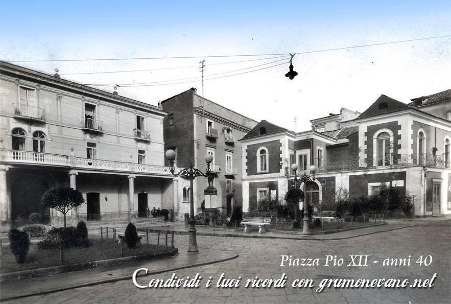 Foto storiche di Grumo Nevano – Piazza Pio XII –