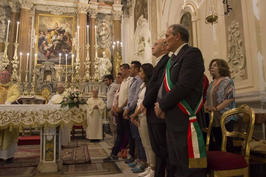 PROCESSIONE DI SAN TAMMARO VESCOVO PATRONO DI GRUMO NEVANO.