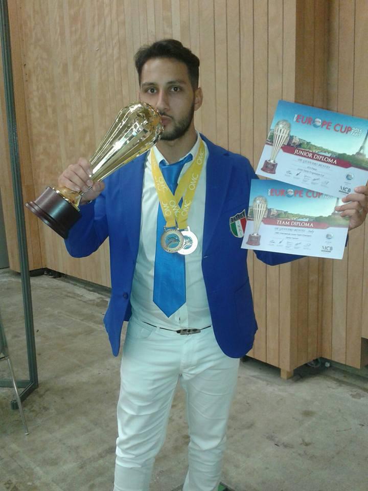 Grumo nevano – Ancora un trionfo per il Grumese Benito De Gennaro a Parigi ai Campionati Europei Parrucchieri.