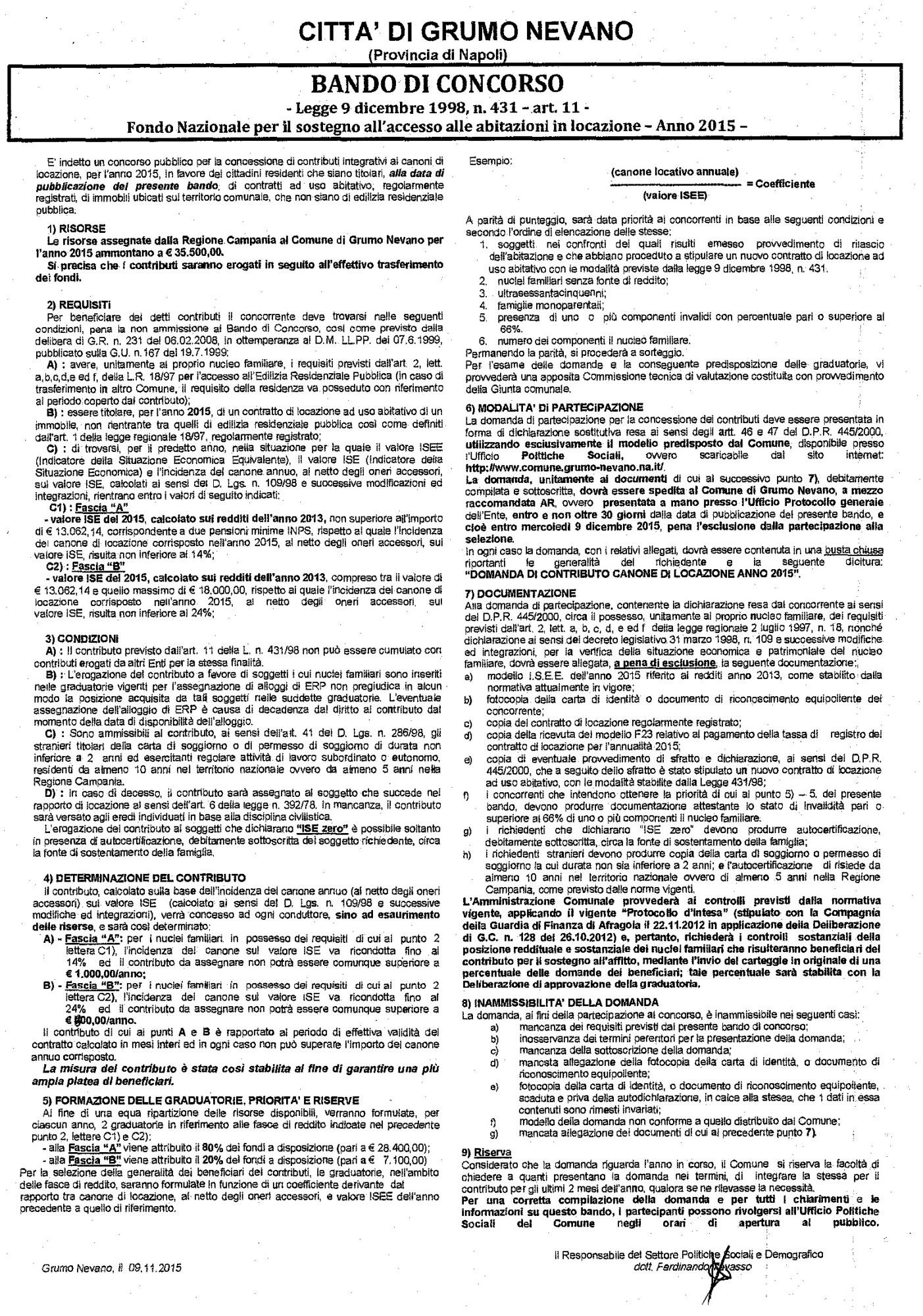 BANDO DI CONCORSO EROGAZIONE CONTRIBUTO SOSTEGNO A_Pagina_1_Immagine_0001