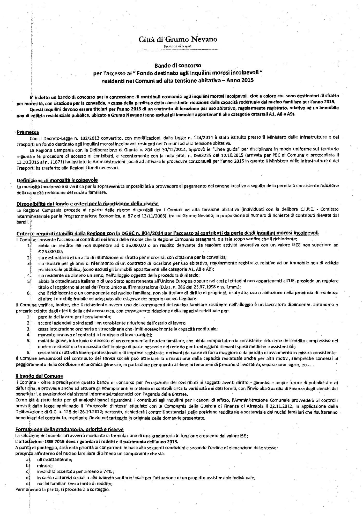 BANDO  - FONDO DESTINATO AGLI INQUILINI MOROSI_Pagina_1_Immagine_0001
