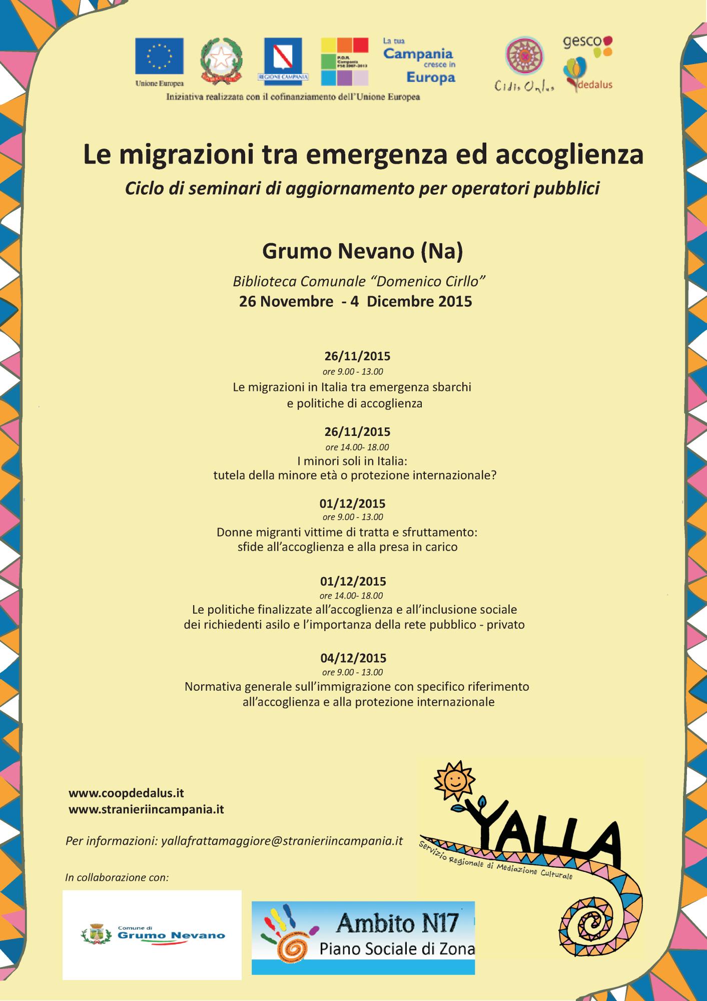 _locandina Yalla_accolgienza GRUMO