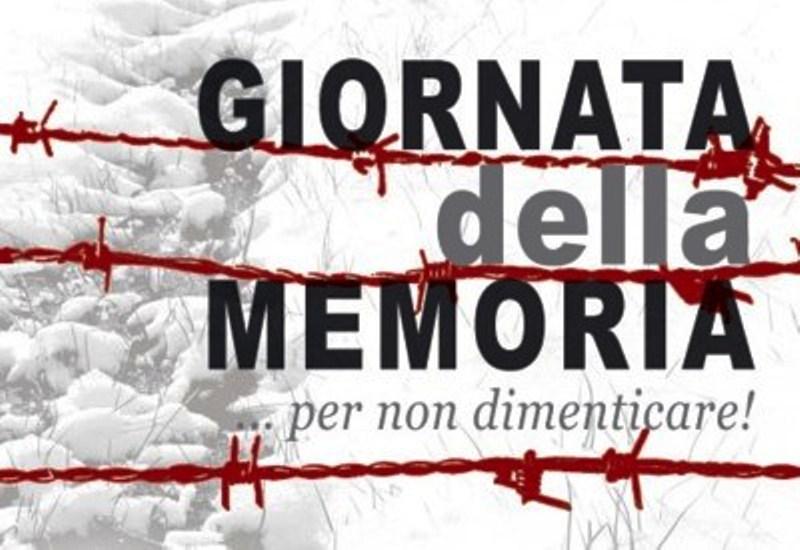 """GIORNO DELLA MEMORIA – Iniziative e manifestazioni culturali """"Per non dimenticare"""" 25-29 Gennaio 2016"""
