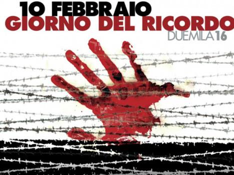 L'Amministrazione Comunale ricorda il 10 febbraio, giornata del ricordo delle vittime delle foibe.