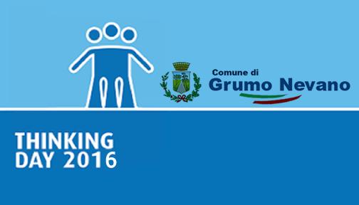 """Patrocinio morale del Comune di Grumo Nevano per la manifestazione """"Thinking day"""" per…"""