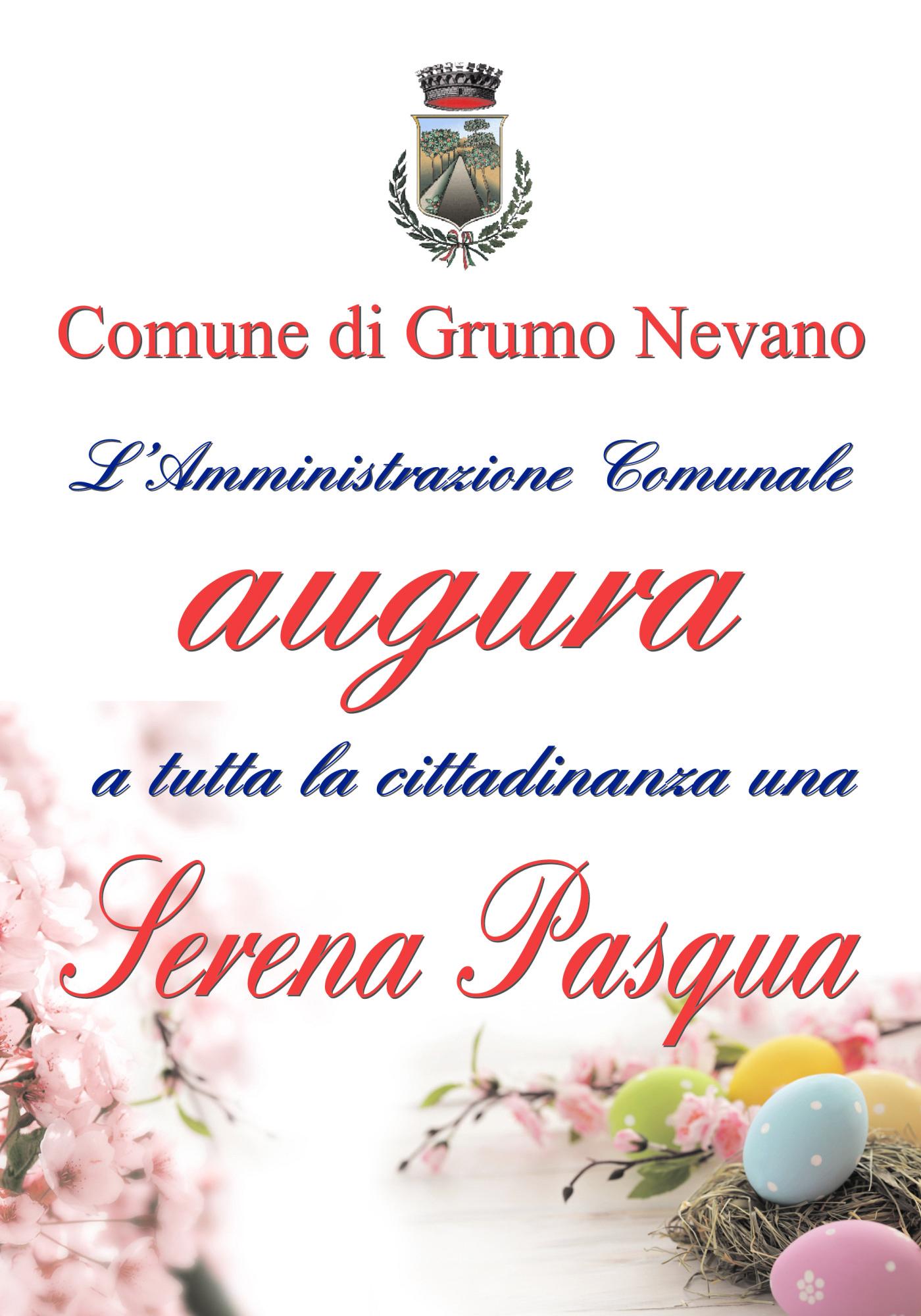Manifesto ComuneGrumoAuguriPasqua