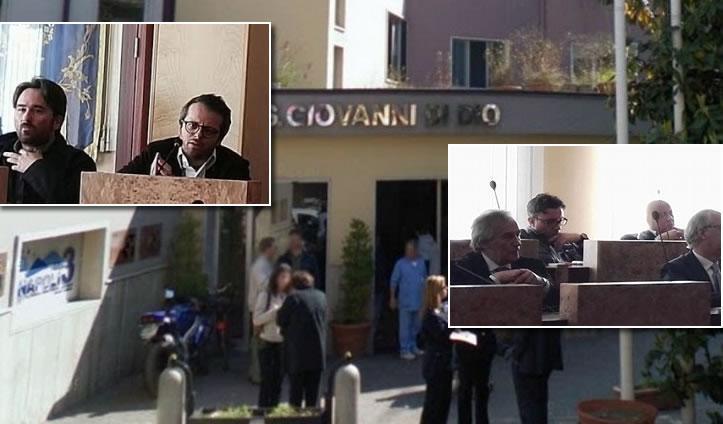 IL PRONTO SOCCORSO RIAPRIRÀ NEI PRIMI GIORNI DI MAGGIO, il sindaco Chiacchio partecipa alla conferenza dei capogruppo –