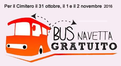 Grumo Nevano, L'amministrazione istituisce BUS NAVETTA PER IL CIMITERO nei giorni 31 Ottobre ed  1 e 2 Novembre, consulta gli orari di utilizzo.