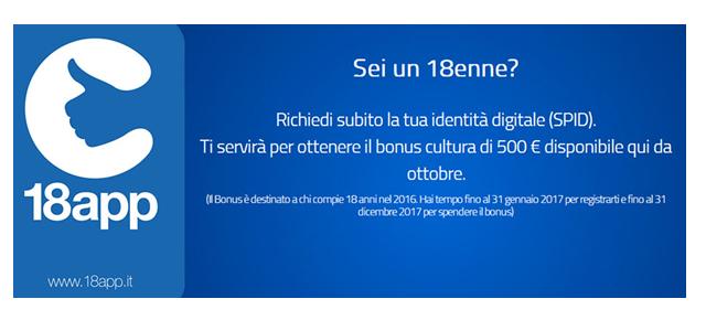 Come ottenere €uro 500 da spendere in cultura, rivolto ai 241 GRUMESI nati nell'anno1998