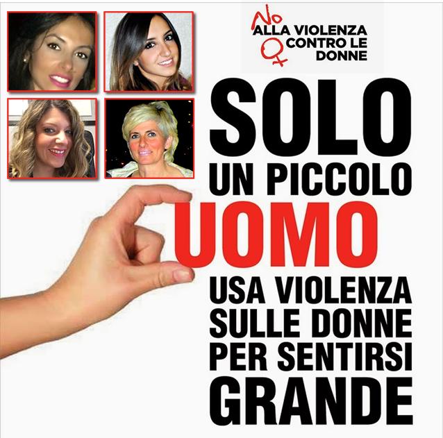 """Contro la violenza sulle donne giornata mondiale, le DONNE dell'Amministrazione CHIACCHIO """"NOI DICIAMO NO"""""""