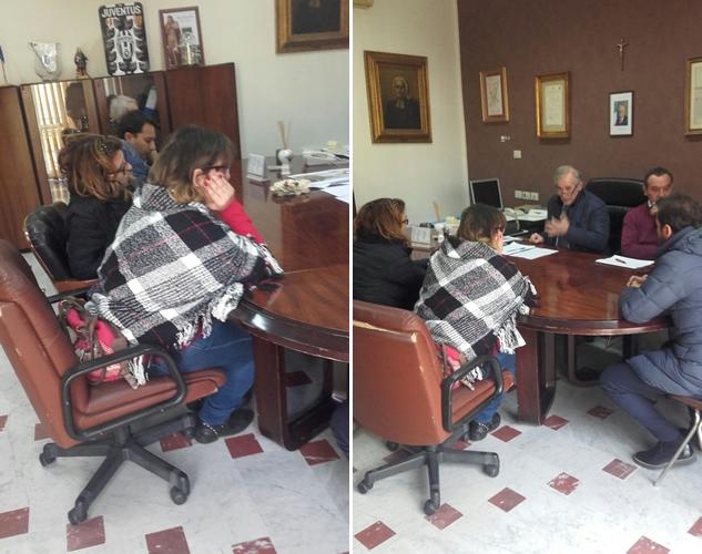 Grumo Nevano, trasloco UFFICI COMUNALI, incontro stamattina tra il SINDACO ed alcuni rappresentanti dei genitori e dirigente scolastico.