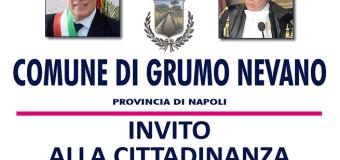 Grumo Nevano, solenne Cerimonia Commemorativa all'illustre Grumese AVV.FRANCESCO LANDOLFO, il 22 dicembre ore 12.30 presso la Casa Comunale.