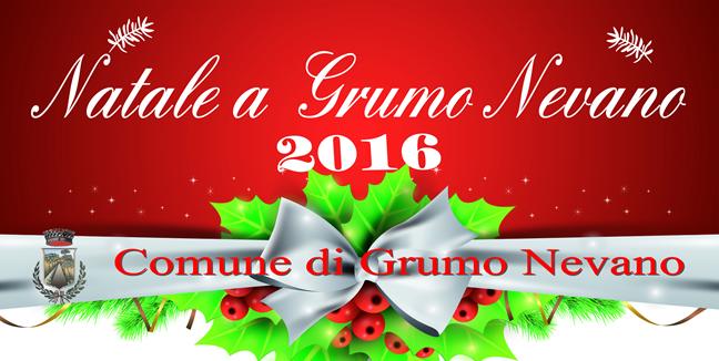 Grumo Nevano, Calendario eventi organizzati per NATALE 2016