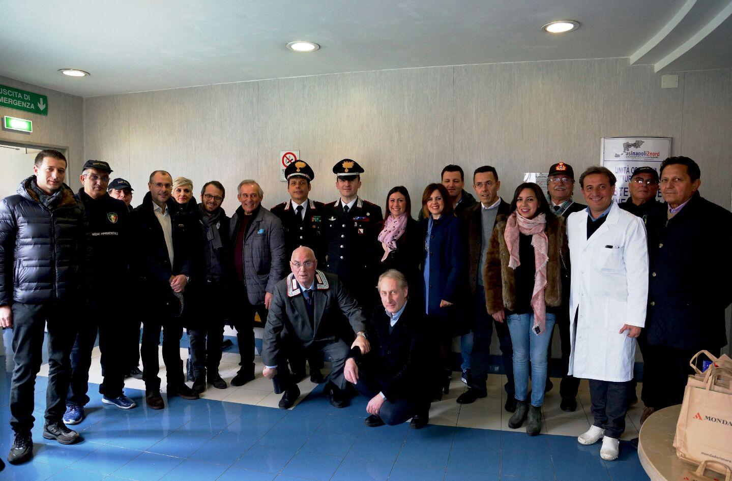 Grumo Nevano, l 'Amministrazione Comunale rinnova il consueto appuntamento dell'Epifania con i bambini, degenti del reparto di pediatria dell'ospedale San Giovanni di Dio di Frattamaggiore.