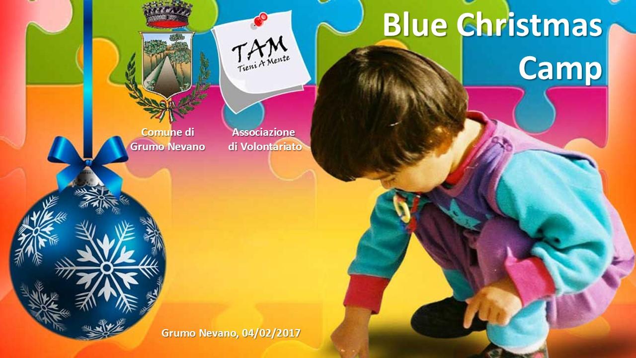 BLUE CHRISTMAS CAMP, campo Invernale per bambini autistici-Ecco il DOCUMENTARIO DELLE ATTIVITA' SVOLTE