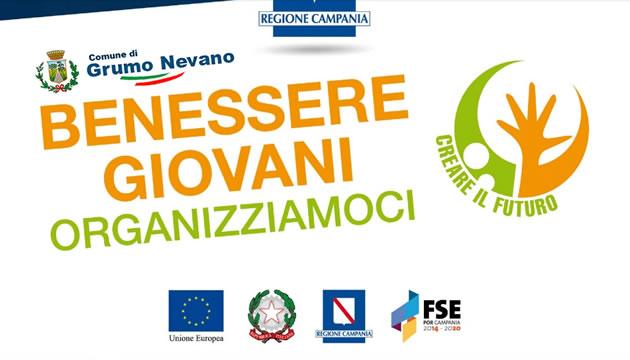 Grumo Nevano, BENESSERE GIOVANI- Organizziamoci, manifestazione di interesse per la realizzazione di attività polivalenti
