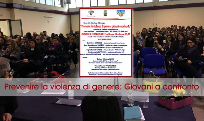 Grumo Nevano, prevenire la violenza di genere: Giovani a confronto, grande partecipazione dei cittadini.