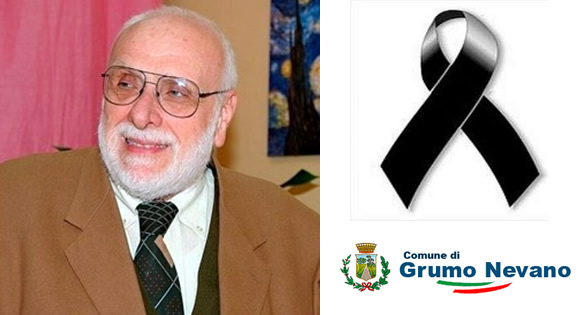 Grumo Nevano, si è spento il dott. ALFONSO ROSSI, il cordoglio dell'Amministrazione Comunale