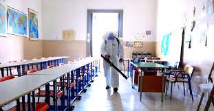 Grumo Nevano, disinfezione, disinfestazione, derattizzazione e sanificazione degli istituti scolastici del territorio comunale nella pausa Pasquale.