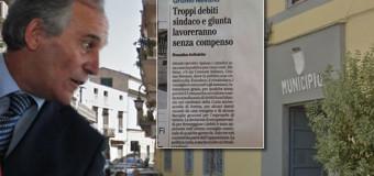 Fonte il MATTINO articolo di Rosalba Avitabile: Grumo Nevano,Troppi debiti Sindaco e Giunta lavoreranno senza compenso