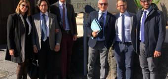 Incontro in PREFETTURA DELLE AMMINISTRAZIONI LOCALI, mantenuto il presidio di giustizia del GdP di Frattamaggiore