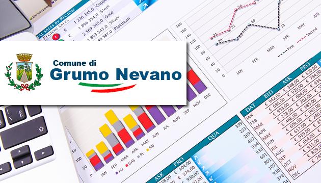 Grumo Nevano, Approvazione  dello schema di bilancio di previsione 2018/2020 nei termini previsti per legge.