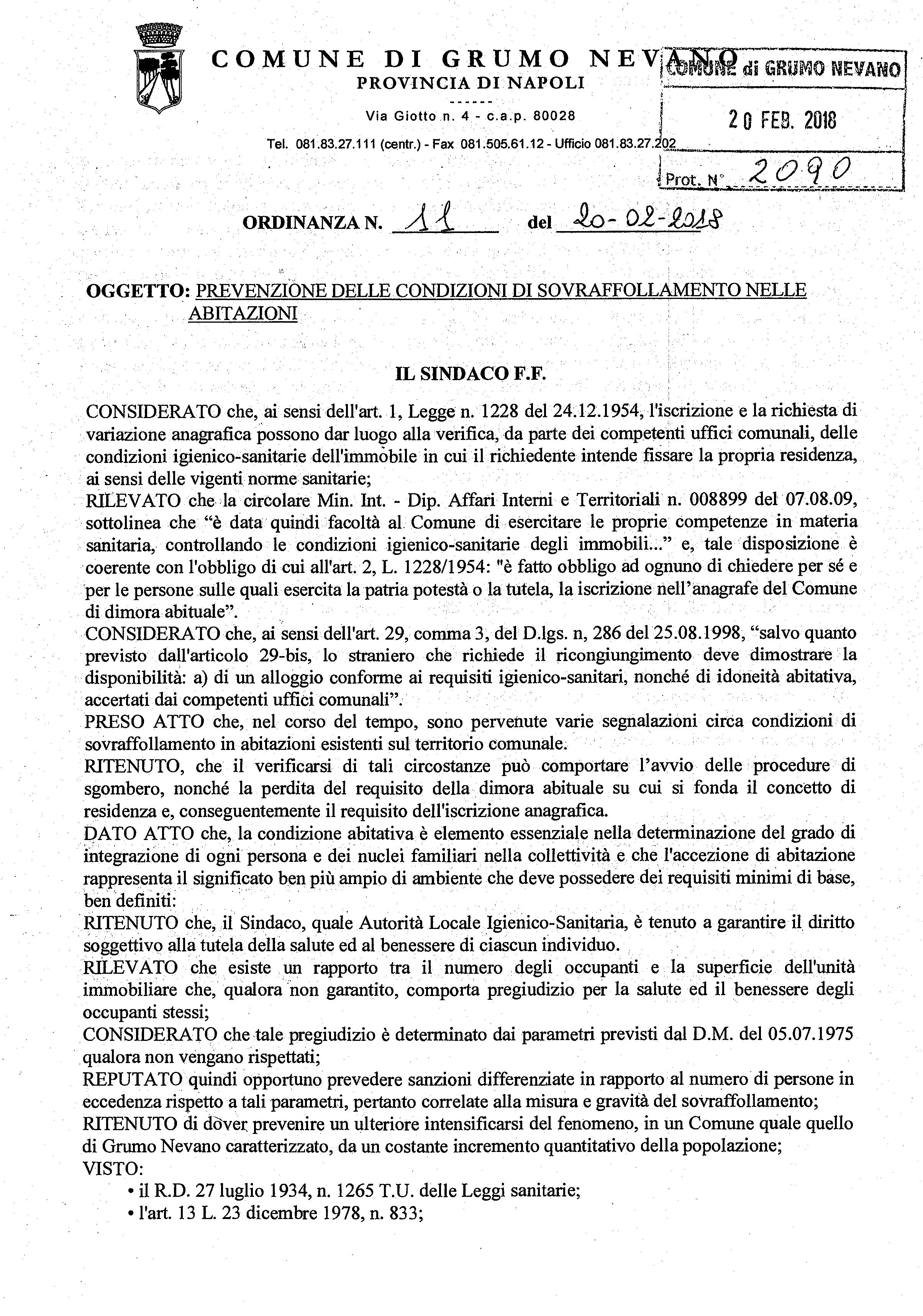 11 ORDINANZA SINDACALE - PREVENZIONE DELLE CONDIZI-1_Pagina_1