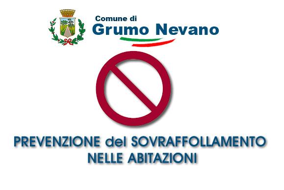 Grumo Nevano, Il Sindaco f.f. emette ORDINANZA per la PREVENZIONE del SOVRAFFOLLAMENTO NELLE ABITAZIONI