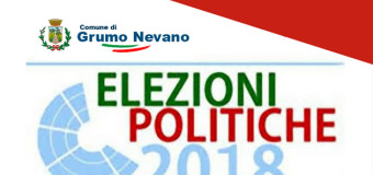 Grumo Nevano, ELEZIONI POLITICHE 4 MARZO 2018 – AVVISO AGLI ELETTORI.