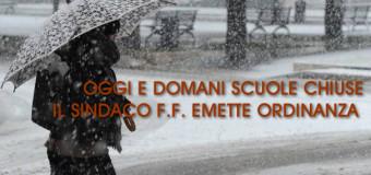 Grumo Nevano, SCUOLE CHIUSE il 27 e 28 FEBBRAIO, emessa ordinanza SINDACALE