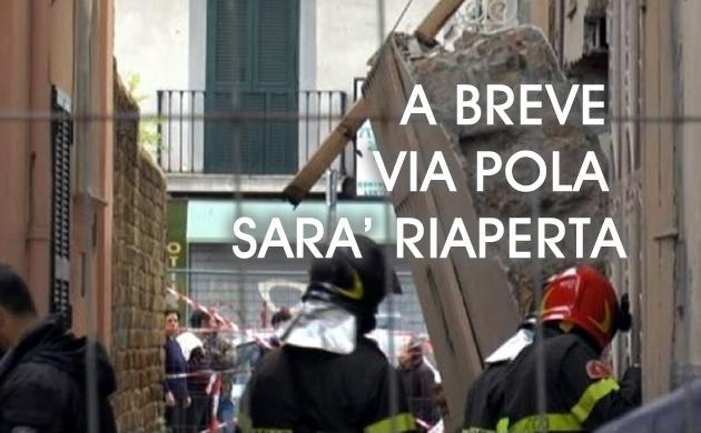 Grumo Nevano, A BREVE VIA POLA SARA' RIAPERTA, inizio lavori Giovedi 15 Marzo.