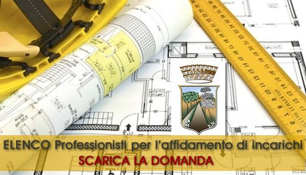 Grumo Nevano, AVVISO PUBBLICO, istituzione di una short list dei professionisti per l'affidamento di incarichi o servizi di architettura, ingegneria.