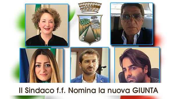 Grumo Nevano, Il SINDACO f.f. NOMINA LA NUOVA GIUNTA COMUNALE.