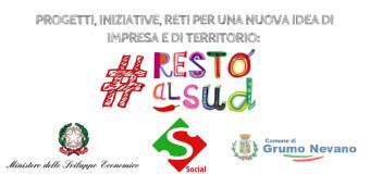 Grumo Nevano, RESTO AL SUD, progetti ed iniziative per la promozione e la costituzione di nuove imprese sul nostro territorio