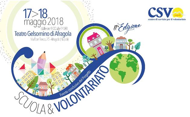 Grumo Nevano, SCUOLA & VOLONTARIATO, Il 17 e 18 maggio al  Teatro Gelsomino di Afragola