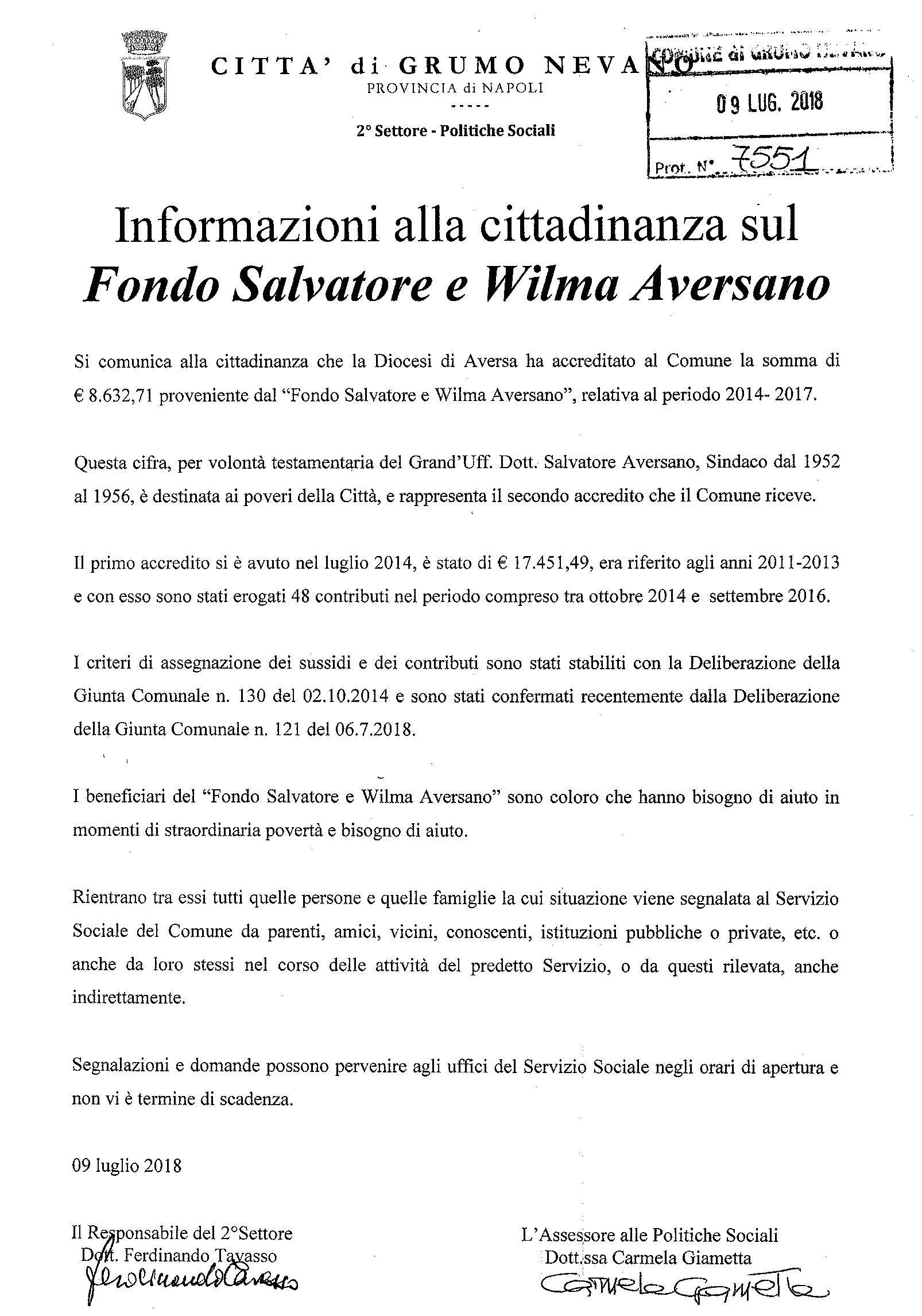 Informazione alla cittadinanza (1)