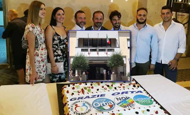 Orta di Atella, ECCO I NOMI CHE FARANNO PARTE DELLA GIUNTA COMUNALE, pronta per il varo definitivo.