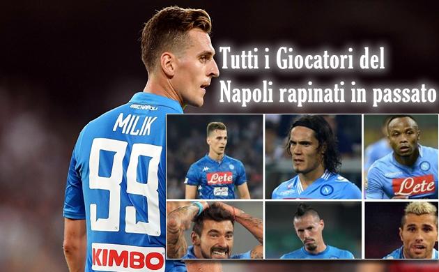 L'assalto a Milik, la reazione dell'attaccante dopo la rapina, tutti i giocatori del Napoli rapinati