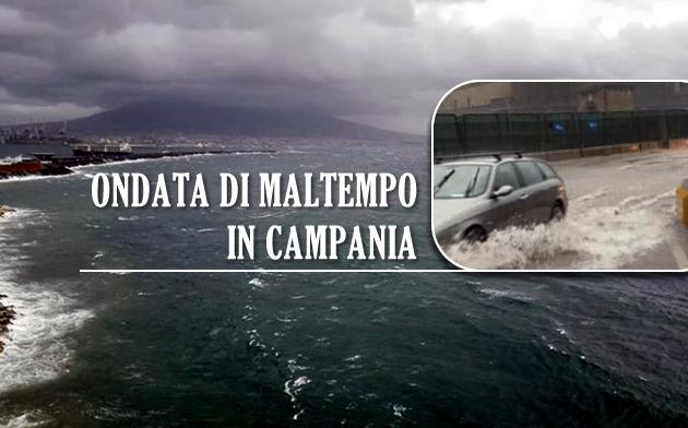 **MALTEMPO**Allerta meteo su Napoli e provincia, si teme il collasso di viabilità e trasporti
