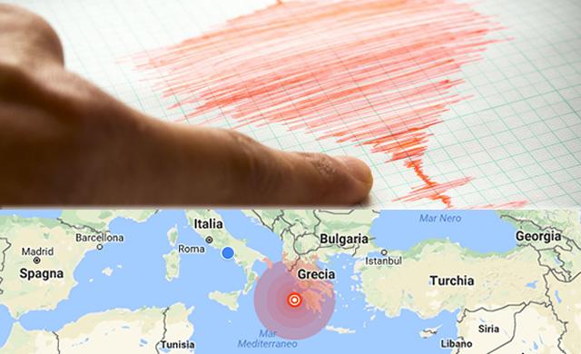 **ULTIMISSIMA**Terremoto in Grecia allerta Tsunami, spaventa anche l'Italia. Scosse sentite in tutto il centro Sud