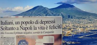 **Approfondimenti**Soltanto a Napoli la vita è felicità: lo dice una ricerca sull'uso degli psicofarmaci