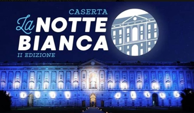 **Approfondimenti**Notte Bianca a Caserta: tanti ospiti e un grande street food. ECCO LA DATA..
