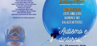 """Grumo Nevano, """"AUTISMO e DINTORNI"""" il 24 e 25 Gennaio 2019 – ORATORIO Parrocchia S.CATERINA"""