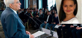 Il Presidente Mattarella premia Anna Balbi, 13enne napoletana che aiuta i Poveri e i Bisognosi