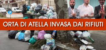 ORTA DI ATELLA: una nuova emergenza rifiuti, Il bluff delle strade e il no alla riduzione delle tasse