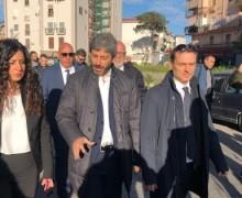 Napoli, il presidente della Camera Fico al Rione Villa: «Basta interventi spot»