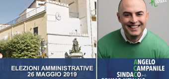 Grumo Nevano, Angelo CAMPANILE candidato a SINDACO alle prossime AMMINISTRATIVE 2019.