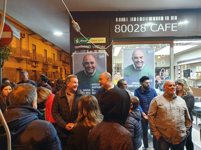 Elezioni Grumo Nevano: Angelo Campanile presenta le sue liste – video integrale